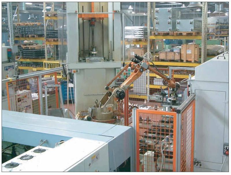 SITI机械手生产车间