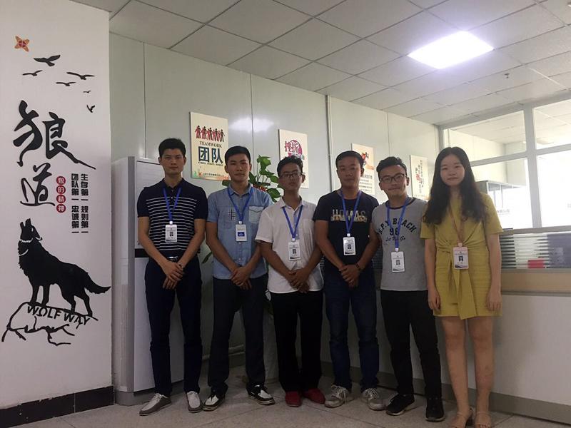 东宸机械减速机销售团队