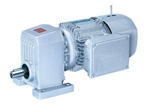 单级减速斜齿轮电机(S系列)